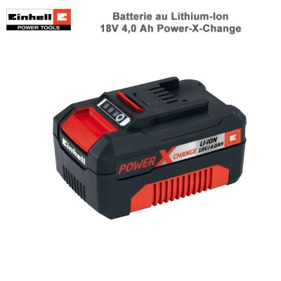 Batterie au Lithium-Ion 18V 4,0 Ah Power-X-Change
