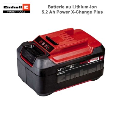 Batterie au Lithium-Ion 18V 5,2Ah P-X-C Plus