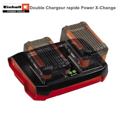 Double Chargeur rapide Power X-Change