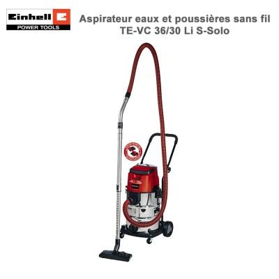 Aspirateur Eaux et Poussières sans fil TE-VC 36/30 Li S-Solo
