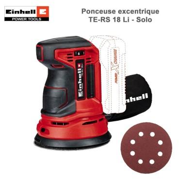 Ponceuse excentrique sans fil TE-RS 18 Li - Solo