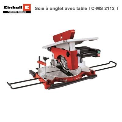 Scie à onglet avec table TH-MS 2112 T