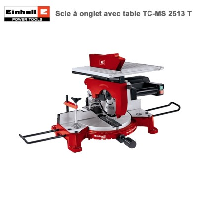 Scie à onglet avec table TH-MS 2513 T