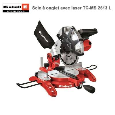 Scie à onglet avec laser TH-MS 2513 L