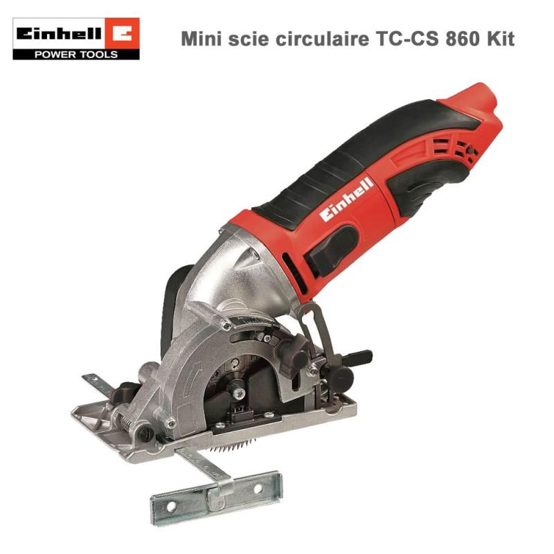 Mini scie circulaire - Kit TC-CS 860 Kit