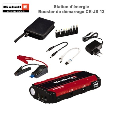 Station d'énergie – Booster de démarrage CE-JS 12