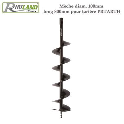 Mèche tarière thermique 10 cm x long 800mm