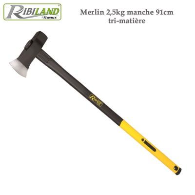 Merlin 2,5 kg manche 91cm tri-matière