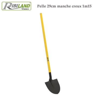 Pelle col de cygne 29 cm manche creux 1m15