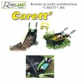 "Brouette de jardin multifonctions ""CARETT"" - 80 L"