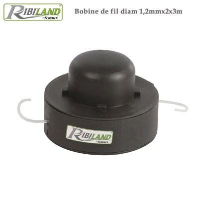 Fil coupe bordure - Diam 1,2mm x 2x3m - Lot de 8