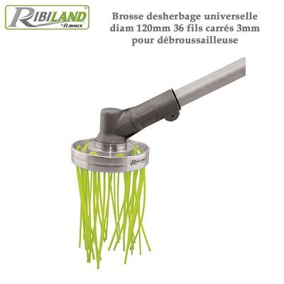 Tête de débroussailleuse universelle désherbage - 120 mm