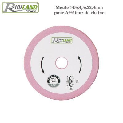 Meule pour affûteuse électrique 145X4.5X22.3 mm