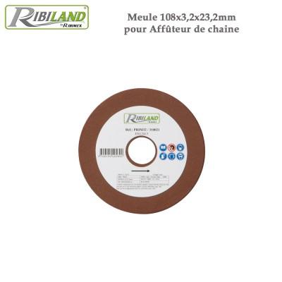 Meule pour affûteuse électrique 108 X 3.2 X 23.2 mm