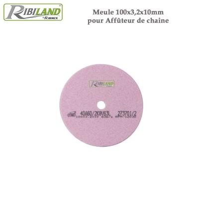 Meule pour affûteuse électrique 100 X 3.2 X 10 mm