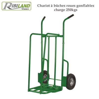 Chariot à bûches 250 kg