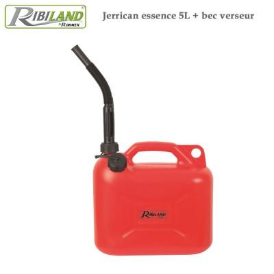Jerrican essence 5 litres + bec verseur