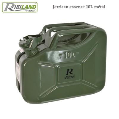 Jerrican essence en métal 10 litres