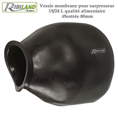 Vessie 19/24 L - 80 mm - Alimentaire pour pompe surpresseurs