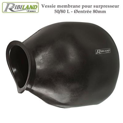 Vessie 50/80 L - 80 mm - pour pompe surpresseurs