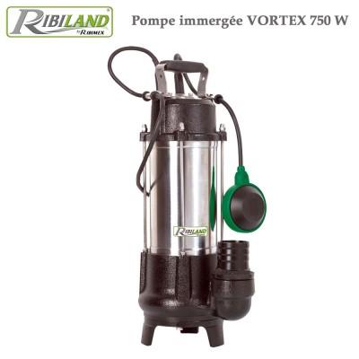 Pompe à eau de relevage système Vortex 750 W