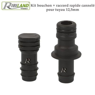 kit raccord pour tuyau poreux 16 mm