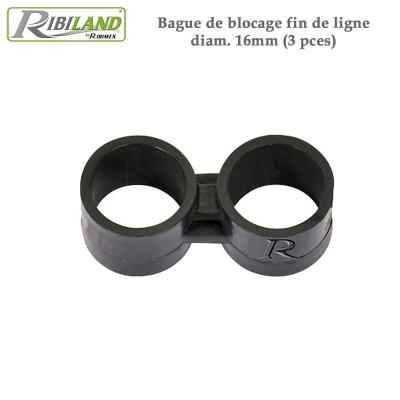Raccords blocage diam.16 mm - 3 pces