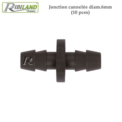 Raccords jonction diam. 6 mm - 10 pces