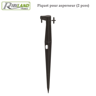 Piquet pour asperseur -  2 pces