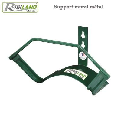 Support mural métal pour tuyau