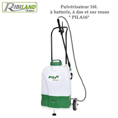 Pulvérisateur électrique à dos ou sur roues Pila 16