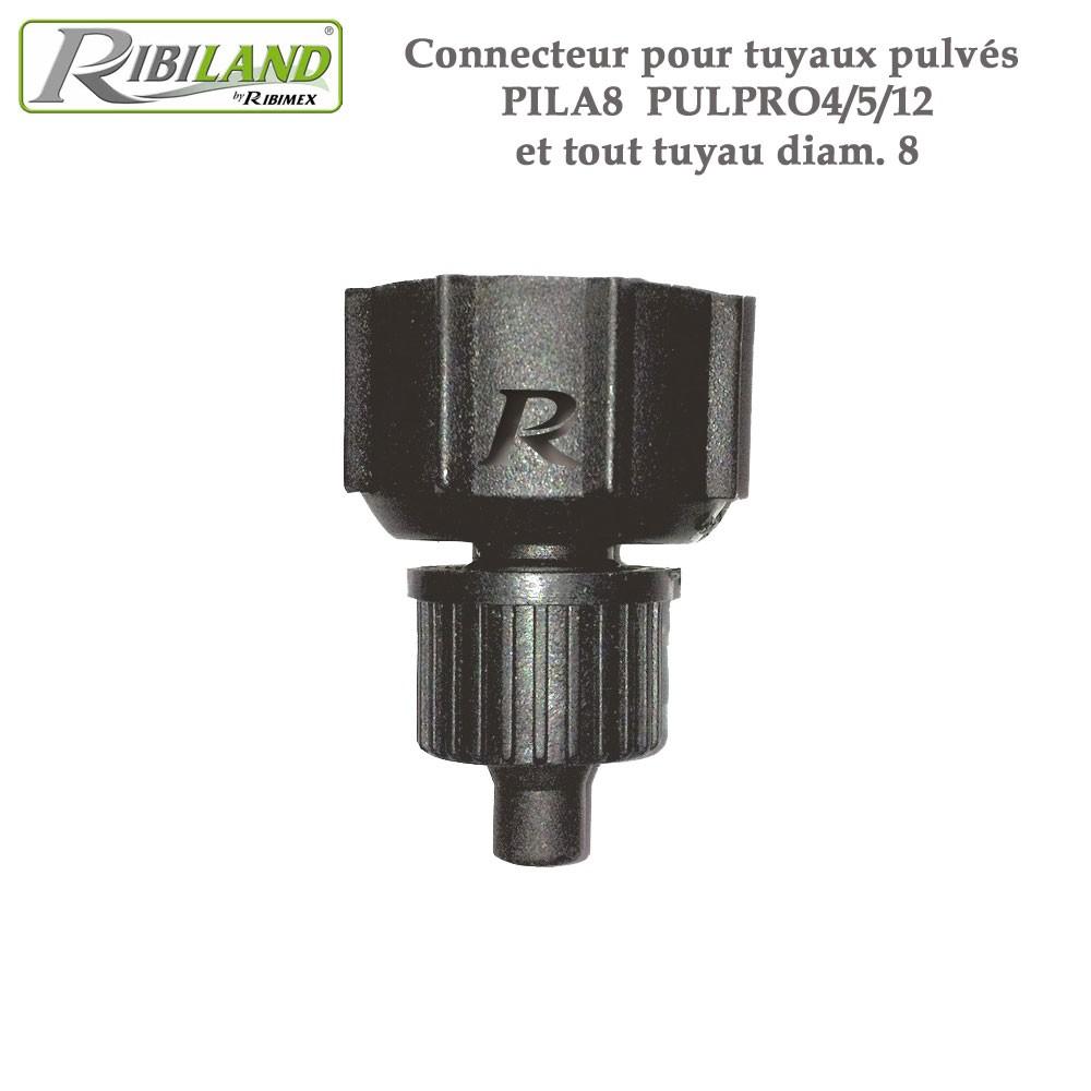 Cache Tuyau Sous Chaudiere adaptateur poignée pulvérisateurs et lances - tous tuyaux 8 mm - lo