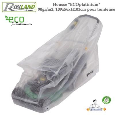 Housse pour tondeuse Eco-platinium  90gr/m², 109 x 56 x H 103cm