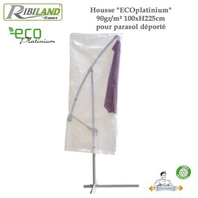 Housse parasol déporté 90gr/m²-100 x H 225 cm