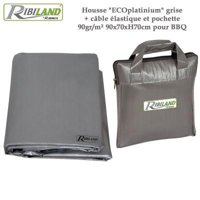 Housse de protection rectangulaire 90 x 70 x H 70 cm - 90gr/m²