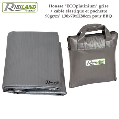 Housse de protection rectangulaire 130 x 70 x H 80 cm - 90gr/m²