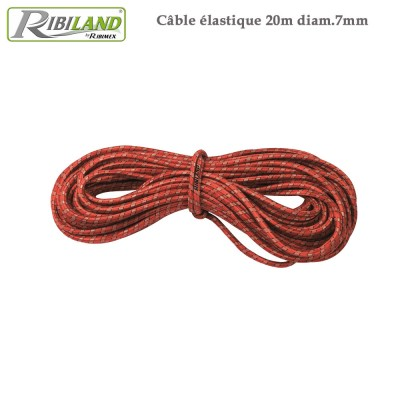 Câble élastique 20 m pour bâche de protection