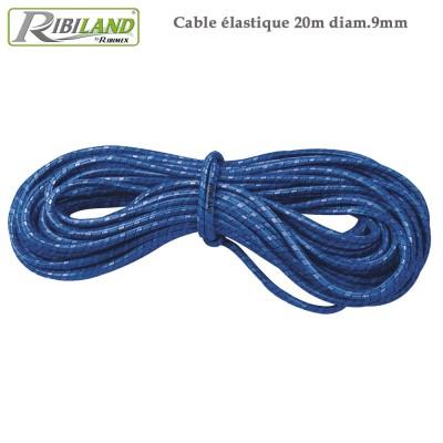 Câble élastique pour bâche de protection 20 m