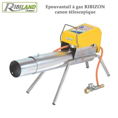 Effaroucheur à gaz Ribizon canon télescopique