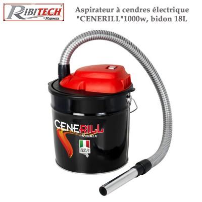 """Aspirateur à cendres électrique """"Cenerill"""" 1000w, bidon 18L"""