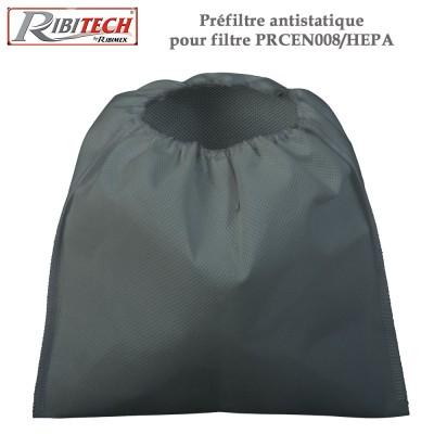 Préfiltre antistatique pour filtre PRCEN008/HEPA