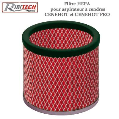 Filtre Hepa pour aspirateur à cendres Cenehot et Cenehot Pro