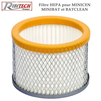 Filtre Hepa pour MiniBat, Minicen, Batclean