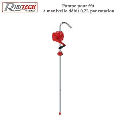 Pompe pour fût à manivelle débit 0,2L par rotation