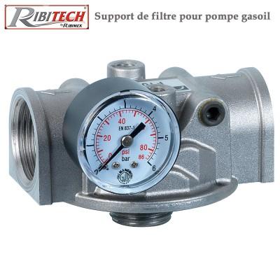 Support de filtre pour pompe gasoil