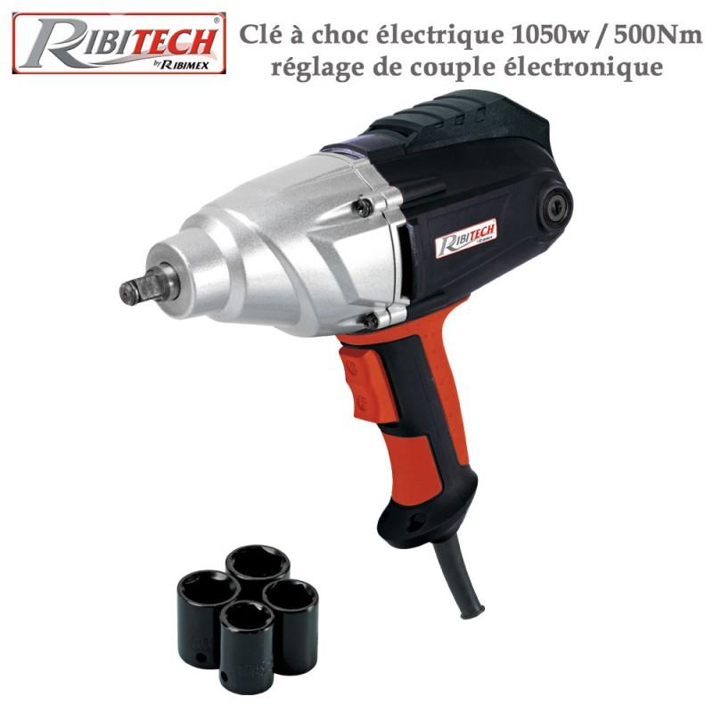Clé à choc électrique 1050w / 500Nm