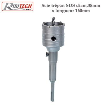 Scie trépan SDS diam.38mm x longueur 160mm