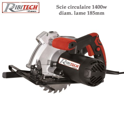 Scie circulaire à guidage de coupe laser 1400 W