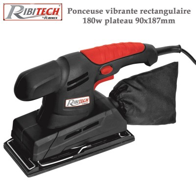 Ponceuse vibrante rectangulaire 180 W