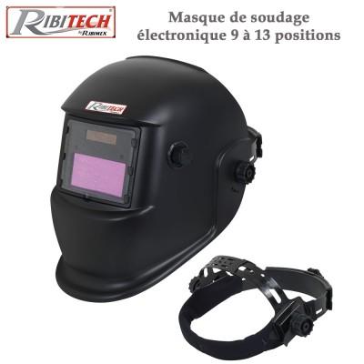 Masque de soudage électronique 9 à 13 positions